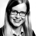 Julia Stinner Passbild sw