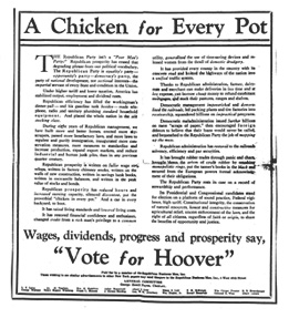 A Chiken for every Pot