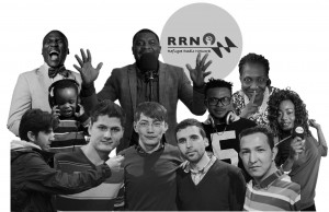 Larry and other members of the RRN crew.