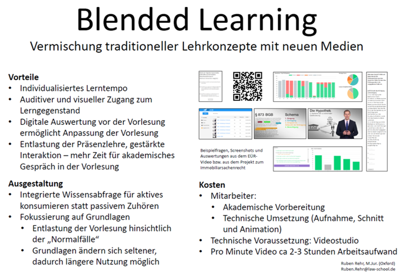 Poster Blended Learning